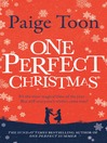 One Perfect Christmas (eBook)